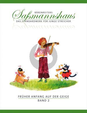 Sassmannshaus Fruher Anfang auf der Geige Vol.2 (dt.)