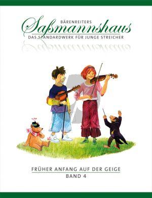Sassmannshaus Fruher Anfang auf der Geige Vol.4 (dt.)