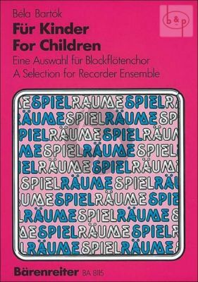 For Children (Selection) (SATB)