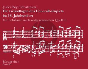 Christensen Die Grundlagen des Generalbassspiels im 18. Jahrhundert