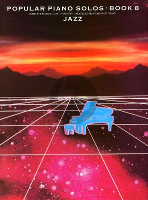 Popular Piano Solos Vol.8 Jazz