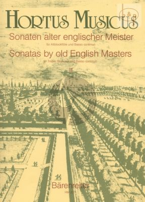 Sonaten alter Englischer Meister Vol.3