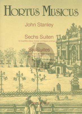 6 Suiten Op.4 Vol.1 Flute[Ob./Vi.]-Bc