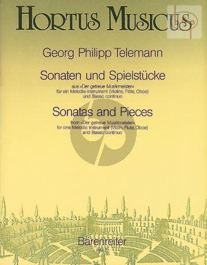 Sonaten & Spielstucke (aus der getreue Musikmeister)