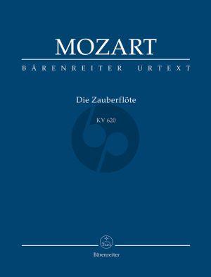 Mozart Die Zauberflote KV 620 Studienpartitur (Gernot Gruber / Alfred Orel ) (Barenreiter-Urtext)