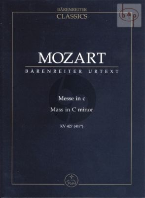 Messe c-moll KV 427 (417a) (Soli-Choir-Orch.) (Study Score)