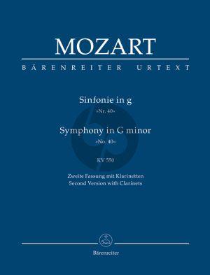 Mozart Symphonie g-moll KV 550 (Studienpart.)