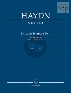 Missa in Tempore Belli (Paukenmesse) Hob.XXII:9 (Soli-Choir-Orch.)