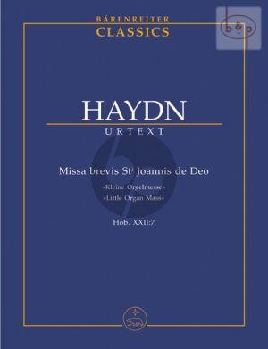 Missa Brevis St.Joannis de Deo (Kleine Orgel- Solo Messe) Hob.XXII:7 (Sopr.Solo-SATB- Strings-Organ)