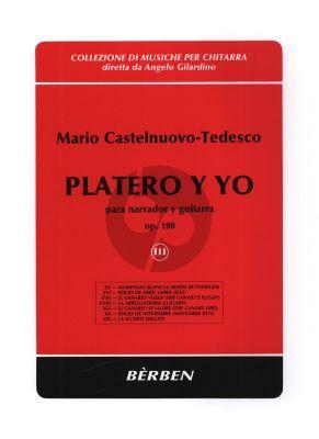 Castelnuovo-Tedesco Platero y Yo Op.190 Vol.3 Narrator with Guitar