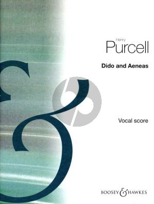 Purcell Dido and Aeneas Soli-Choir-Orchestra (Vocal Score) (edited by Benjamin Britten)