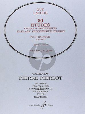 50 Etudes Faciles et Progressives Vol.1 Hautbois