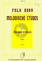 Dean Melodische Etudes Vol.1 Piano