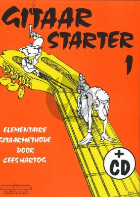 Hartog Gitaarstarter Vol.1 (Bk-Cd)
