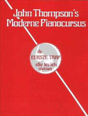 Thompson Moderne Piano Cursus Vol.1 (de eerste trap, elke les iets nieuws)
