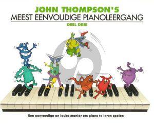 Thompson Meest Eenvoudige Pianoleergang Vol.3