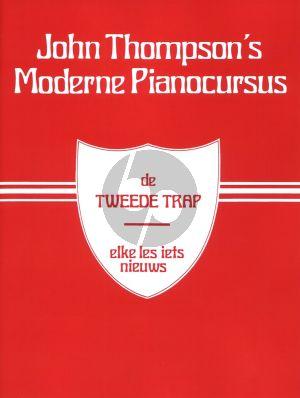 Thompson Moderne Piano Cursus Vol.2 (de tweede trap, elke les iets nieuws)