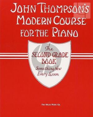 Modern Piano Course Second Grade