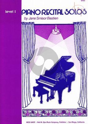 Piano Recital Solos Level 1
