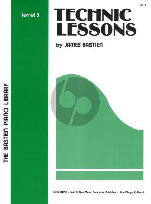 James Bastien Technic Lessons Level 3