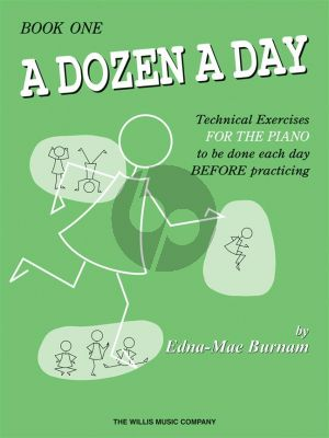 Burnam Dozen a Day Vol.1 Piano (Technical Exercises to be done each Day before Practicing)