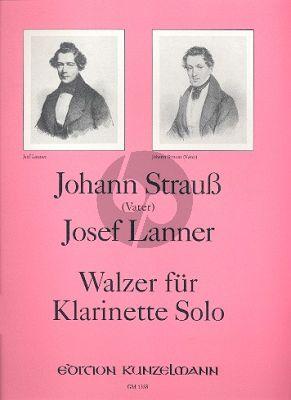 Walzer für Klarinette (Johann Strauss & Josef Lanner) (arr. Fritz-Georg Holy)