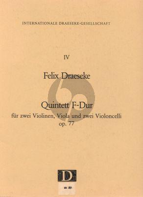 Quintett F-Dur Op.77 2 Vi.-Va.- 2 Vc.