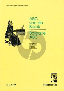 ABC van de Barok / Baroque ABC Orgel (Ewald Kooiman)