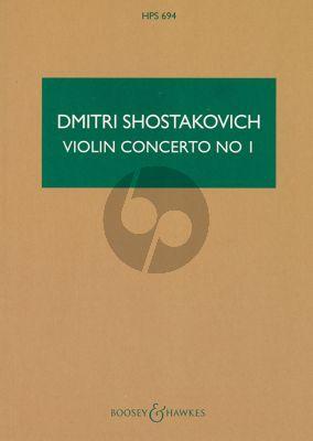 Concerto No.1 Op.77 Violin-Orchestra Study Score