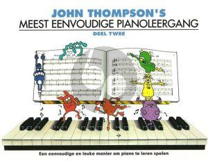 Thompson Meest Eenvoudige Pianoleergang Vol.2