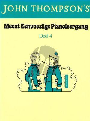 Thompson Meest Eenvoudige Pianoleergang Vol.4