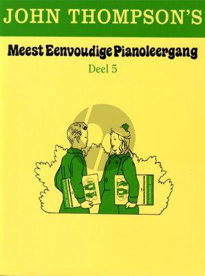 Thompson Meest Eenvoudige Pianoleergang Vol.5