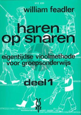 Feadler Haren op Snaren Vol.1 (Eigentijdse vioolmethode voor groepsonderwijs)