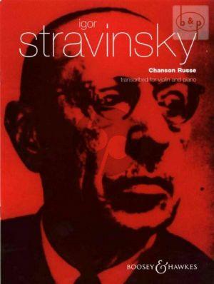 Chanson Russe Violin and Piano
