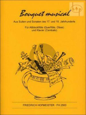 Bouquet Musical aus Suiten und Sonaten des 17.-18. Jahrh. (Treble Rec.[Fl./Ob.])-Piano)