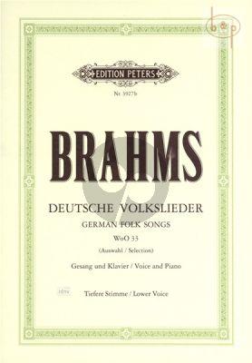 Deutsche Volkslieder WoO 33 (Auswahl)