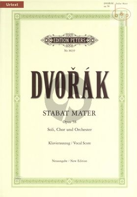 Stabat Mater Opus 58 Soli-Choir-Orchestra