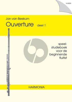 Beekum Ouverture Vol.1 Fluit (Speel- Studieboek beginnende Fluitist)
