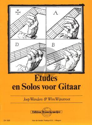 Wanders Etudes en Solos Gitaar (met Wim Wijnstroot)