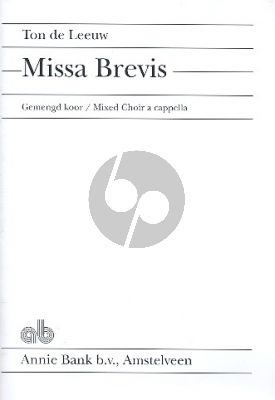 Leeuw Missa Brevis SATB
