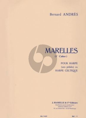 Andres Marelles Vol.1 Harpe (elementary level)