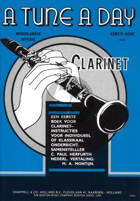 Herfurth Tune a Day Vol.1 voor Klarinet (Nederlandse uitgave)