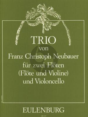 Neubauer Trio 2 Flöten und Violoncello (Stimmen) (Werner Thomas-Mifune)