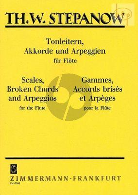 Tonleitern-Akkorde und Arpeggien