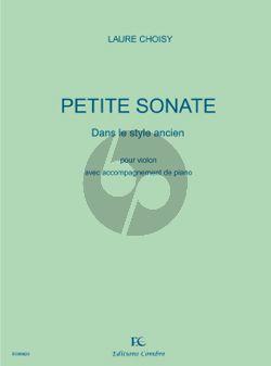 Petite Sonate dans le style ancien Violin-Piano