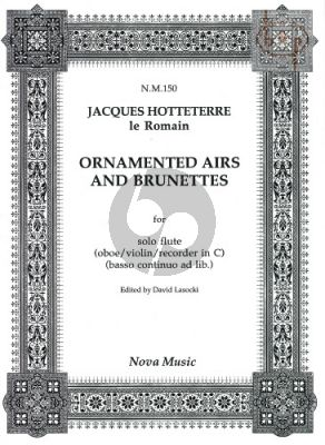 Ornamented Airs and Brunettes for Flute (or Oboe / Violin)