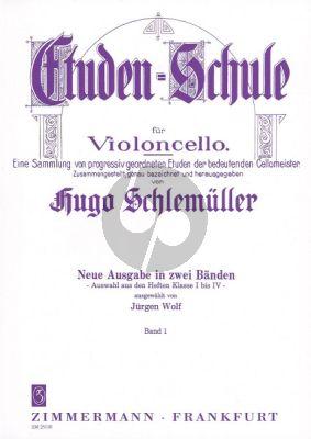 Schlemuller Etuden-Schule Vol.1 Violoncello (Wolf)