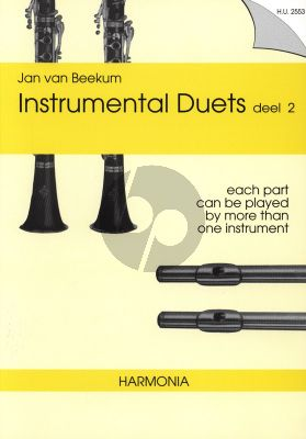 Beekum Instrumental Duets Vol.2 for 2 Melody Instruments (Each part can be played by more than one instrument)