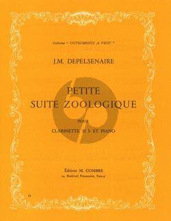 Depelsenaire Petite Suite Zoologique Clarinette et Piano