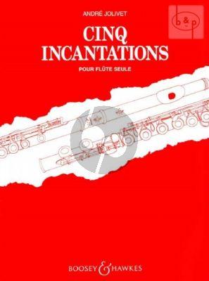 Jolivet Cinq Incantations Flute solo